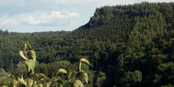Ausblick Burg Ramstein in Richtung Geyersley