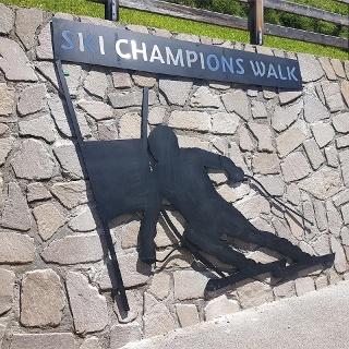 Ski Champions Walk