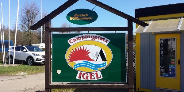 Camping Igel