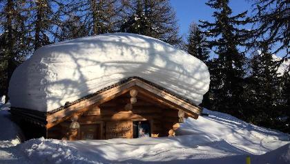 Winterwanderung Bettmeralp - Ried - Bettmeralp «Waldpromenade»