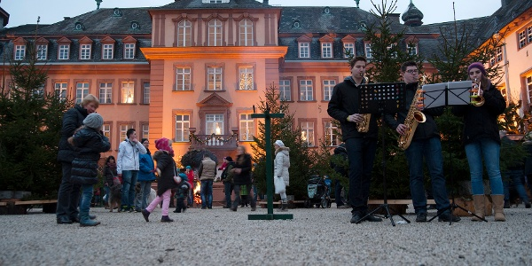 WeihnachtsZeitreise  Bad Berleburg Schlossplatz