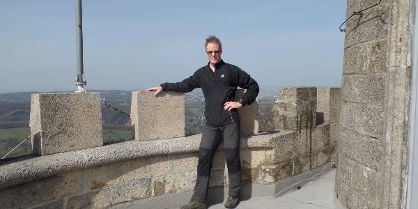 Habsburgwarte am Summit von Wien am Hermannskogel 542m