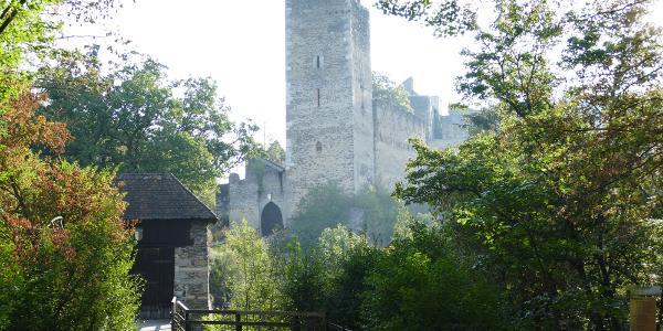 Burg Kaja bei Merkersdorf