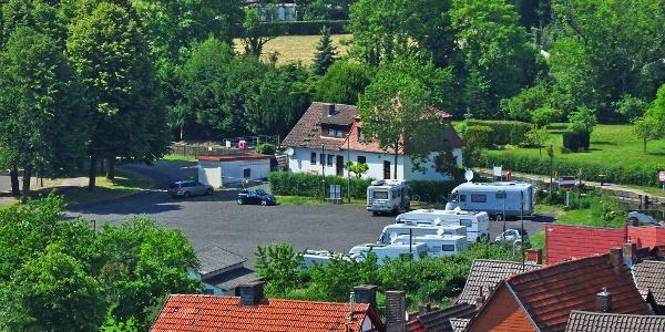 """Wohnmobilstellplatz """"Franzrasen"""" in Bad Sooden-Allendorf"""