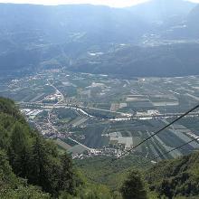 Funivia di Meltina (Panorama).