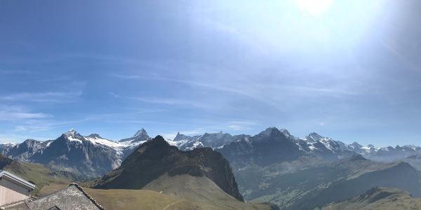 Eiger, Mönch & Jungfrau vom Faulhorn