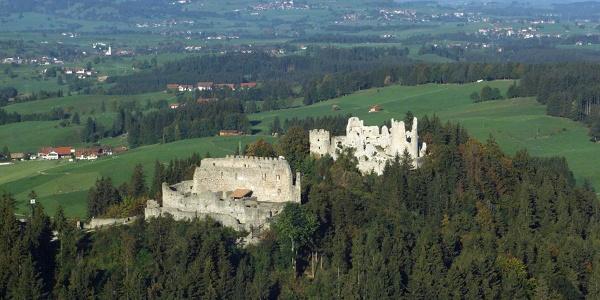 Burguinen Eisenberg und Hohenfreyberg