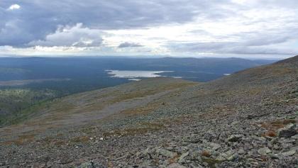 Sokosti Fjell dans le parc national Urho Kekkonen