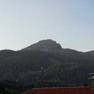 Blick auf den Spitzstein