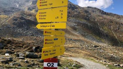 Ascherhütte Abstieg