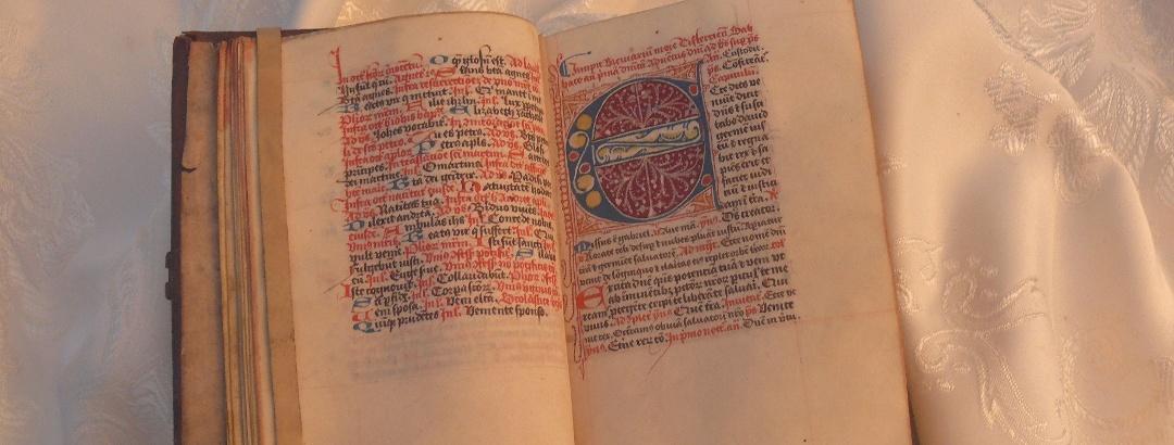 Die Kamper Bibel - zu sehen in der Schatzkammer Kloster Kamp