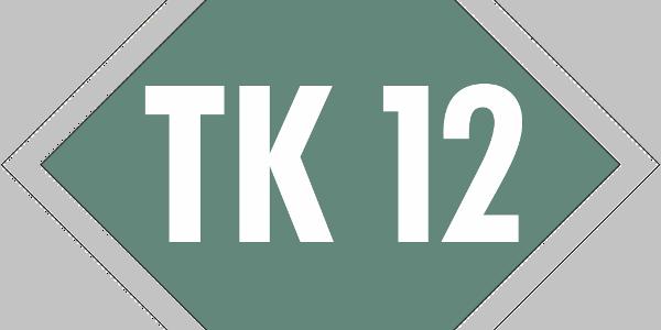 Schild Terrainkurweg 12