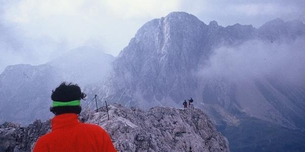 Panorama dalla vetta verso il monte Lastroni