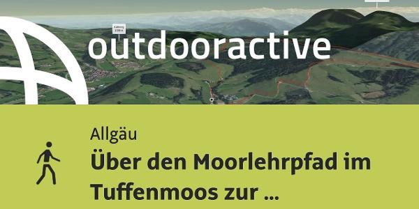 Wanderung im Allgäu: Über den Moorlehrpfad im Tuffenmoos zur Pfarralpe und Alpseeblick