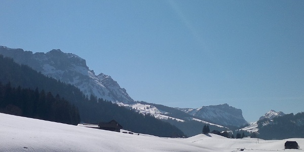 Langlaufen in Marbach