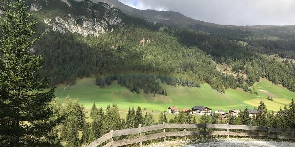 Auf dem Weg zum Obernberger See