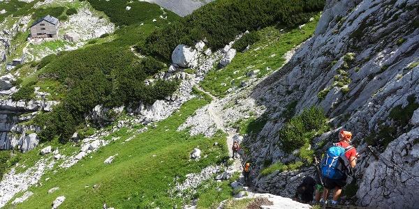 Zwischen Welser Hütte und Teicheln