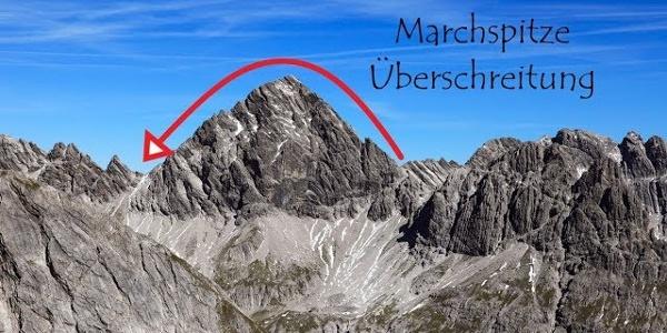 Marchspitze Überschreitung (18 km | 1800 hm | II+)