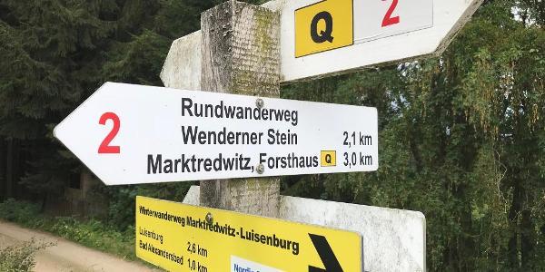 Schilderwald bei Bad Alexandersbad