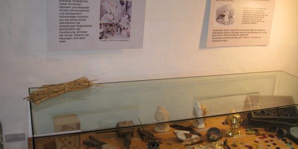 Exponate im Feuchtmayer-Museum