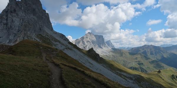 Prättigauer Höhenweg ab dem Gafalljoch