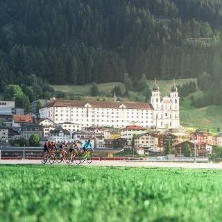 Benediktiner-Kloster in Disentis