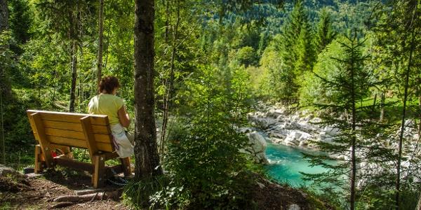 Small Gorge of the Soča river
