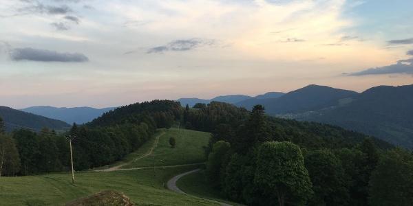 Vue du Schafert  © FAH Saint Amarin - Hautes Vosges d'Alsace
