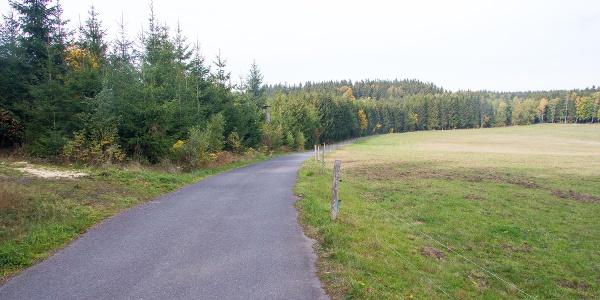Hochwaldstraße bei Falkenhain