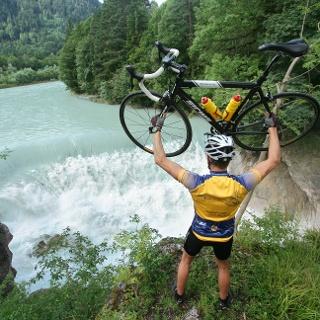 Auf der Strecke: Der Lechfall in Füssen