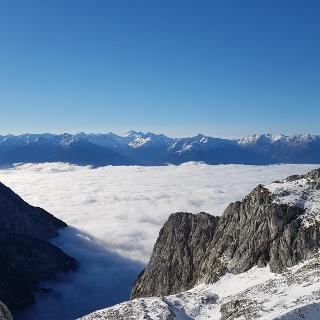 Lamsscharte in Richtung Alpenhauptkamm