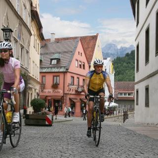 Start und Ziel: Die Füssener Altstadt