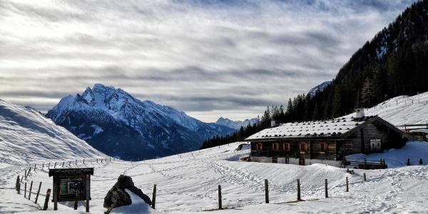 Die Mordaualm im Winter