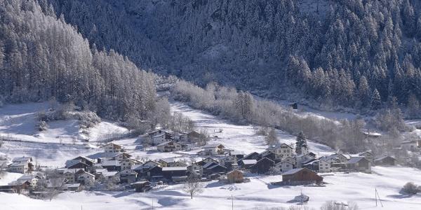 Pignia im Winter
