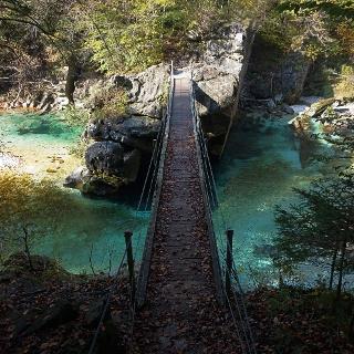 Brjeka footbridge.