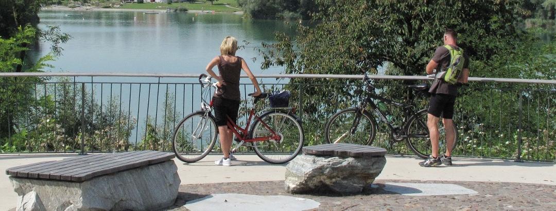 Radler am Schlosssee Salem