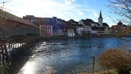 Diessenhofen am Rhein.