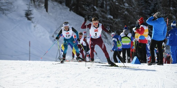 FIS Rennloipe on the occasion of the Junior World Championships 2018 Goms