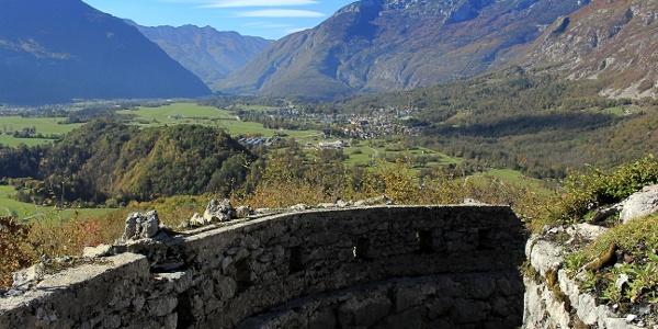 Idealna lokacija za pogled na bovško kotlino