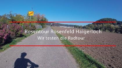 Rosentour Haigerloch Rosenfeld - Radtour Zollernalb