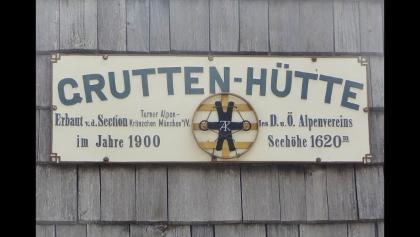 Tirol,Gruttenhütte im Kaisergebirge in Tirol.
