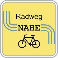 Routenlogo für den Nahe-Radweg