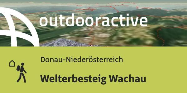Wachau Karte Donau.Welterbesteig Wachau Mehrtagestour Alpenvereinaktiv Com
