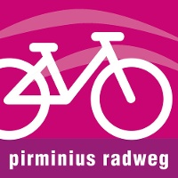 Routenlogo für den Pirminius-Radweg