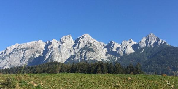 Am Fuße des Tennengebirges