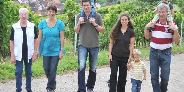 Familie Nägle und Kudling