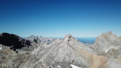 Fotografía aérea del Pico Tesorero