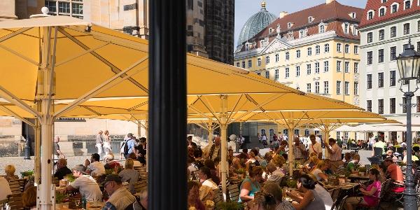 Der Neumarkt Dresden mit der Frauenkirche