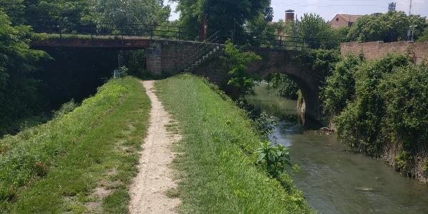 Bologna - Entlang des Canale Navile