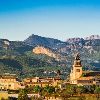 Santa Maria and Tramuntana Mountains